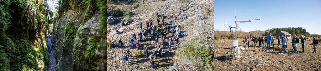 sortie terrain SNO H+ Larzac journées annuelles ozcar 2020