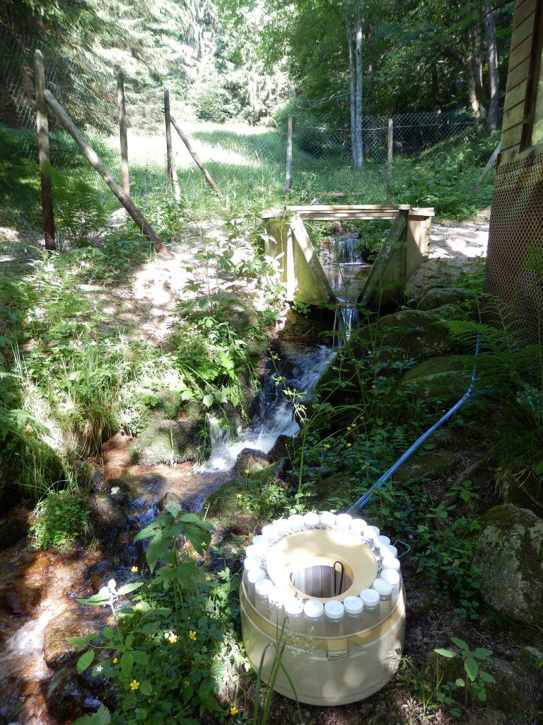 Station hydrologique de l'exutoire