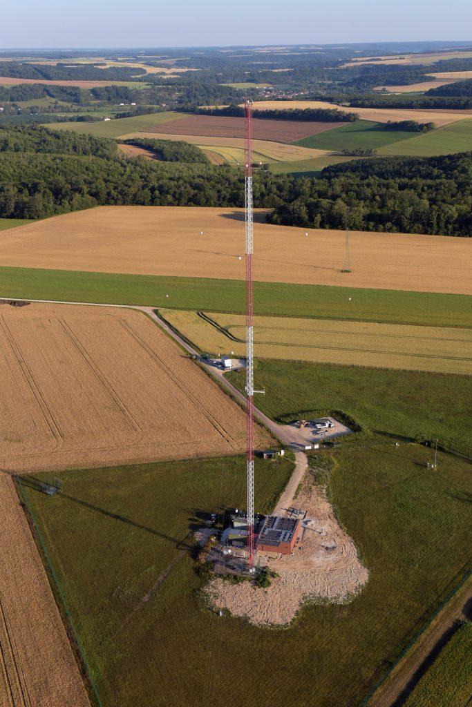 Station d'observation de l'atmosphère : qualité de l'air, météo, gaz à effet de Serre, fond radiologique, propriétés chimiques et physiques des particules.