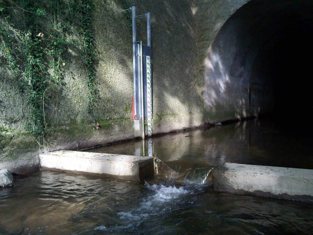 Station hydrométrique du Ratier, 2011