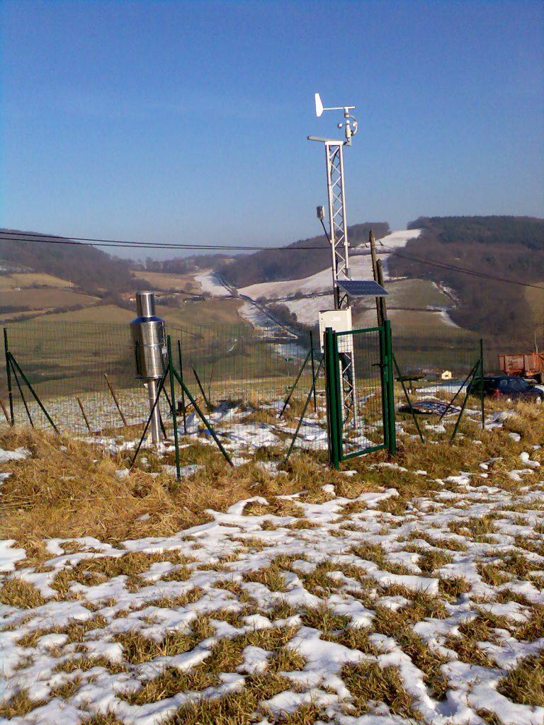 Station météorologique de Montromant, 2020 ©