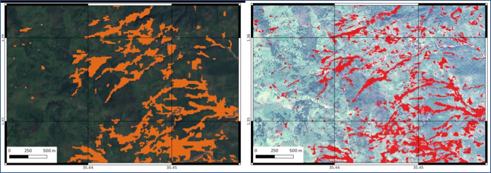 Glissements de terrain au Kenya – Novembre 2019 UNISTRA- EOST (en partenariat avec UNOSAT)