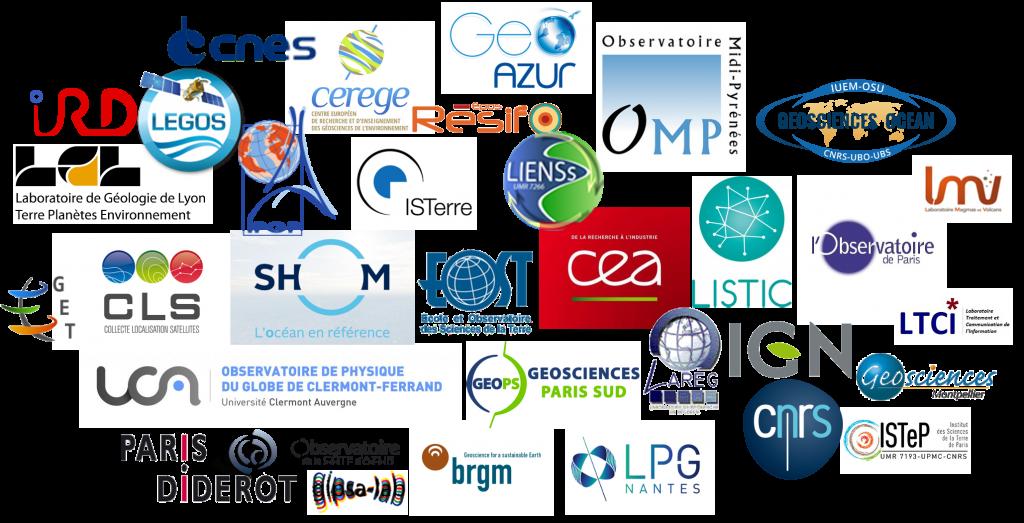 Logos CDS et partenaires